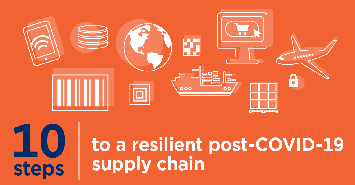 10 steps to a resilient post-COVID-19 supply chain