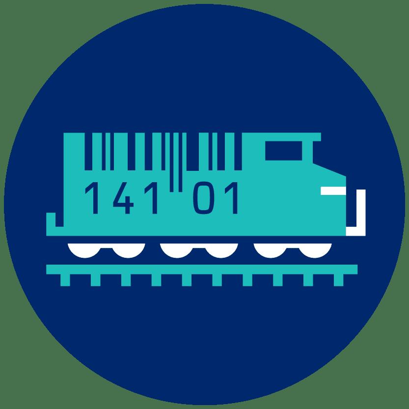 GS1 Rail icon