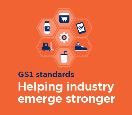 GS1 standards will help industry emerge stronger than ever